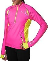 More Mile Vancouver Ladies Thermal Running Top - Pink