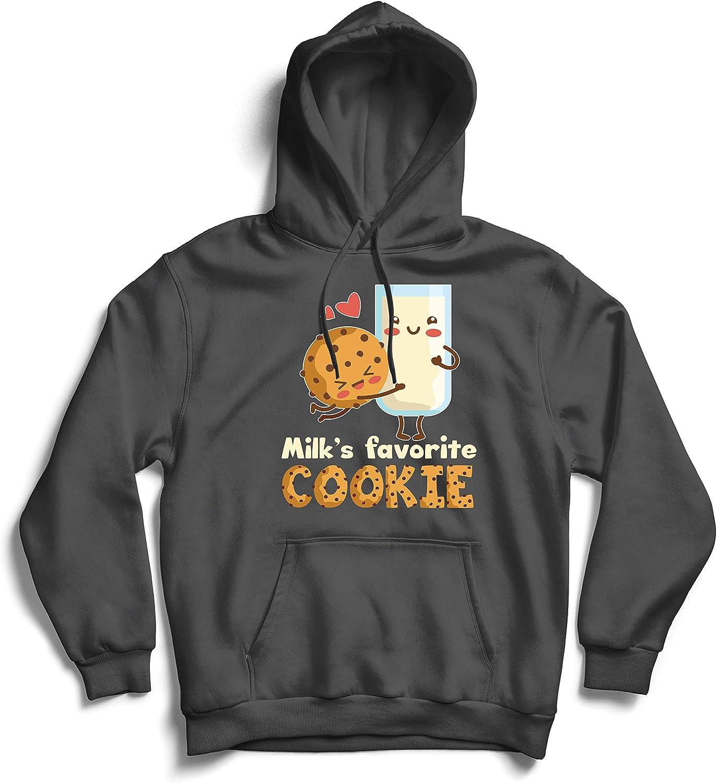 lepni.me Unisex Hoodie Milk/'s Favorite Cookie Cute Cartoon Funny Match