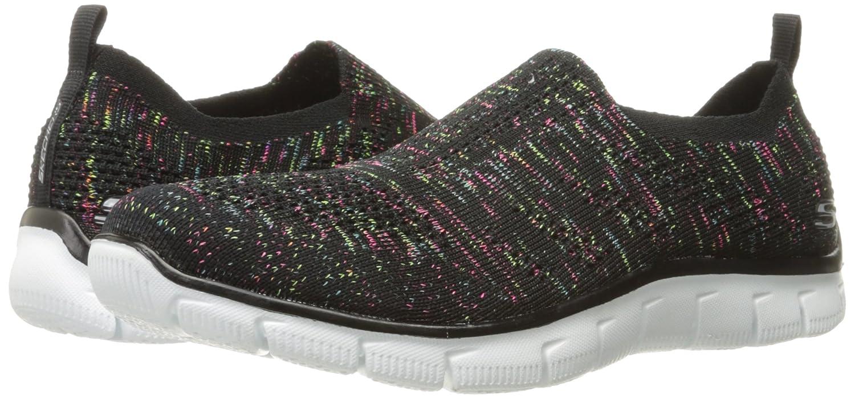 Skechers Sport Women's Empire Inside Look Fashion Sneaker B01M1NJ9N8 6.5 B(M) US|Black/Multi