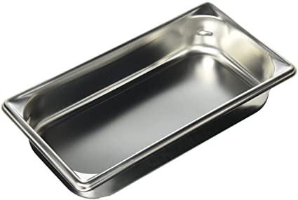 Buy Deep One Third Size Super Pan II Stainless Steel Steam - Used buffet steam table for sale
