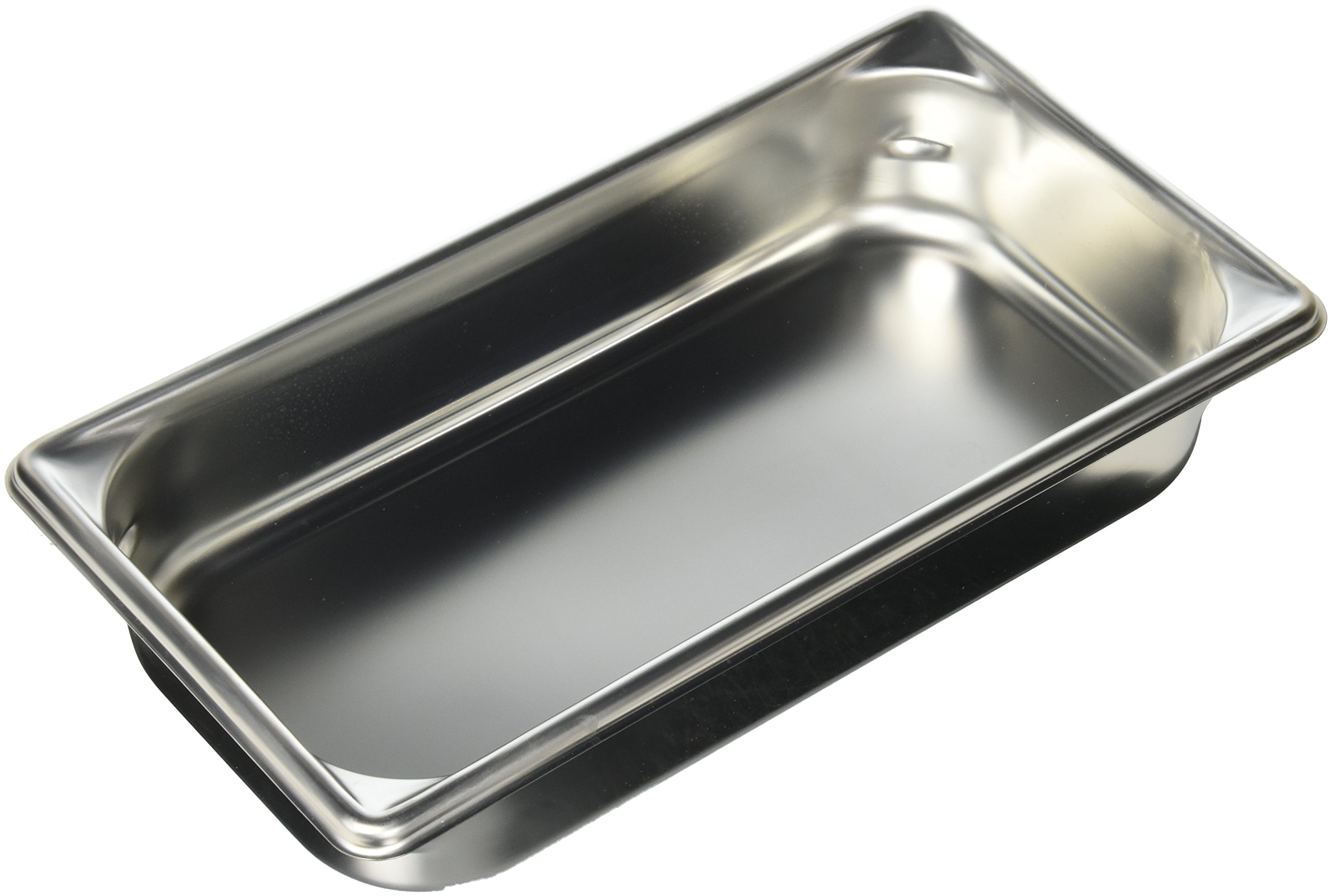 2 1/2'' Deep One Third Size Super Pan II® Stainless Steel Steam Table Pans (12-0291) Category: Buffet Food Pans