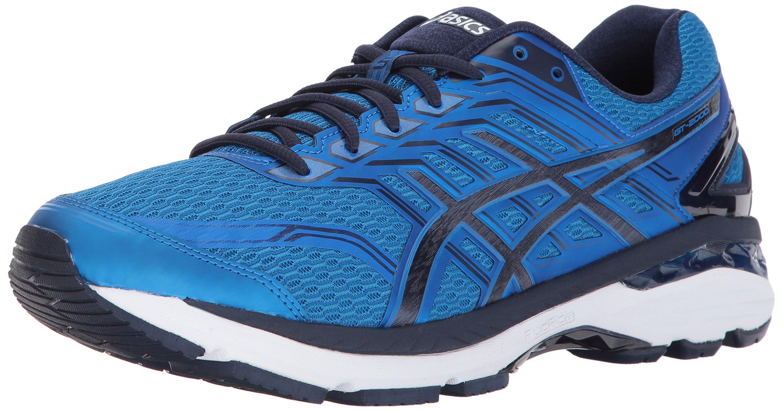 ASICS Men's GT-2000 5 Running Shoe, Directoire Blue/Peacoat/White, 13 Medium US