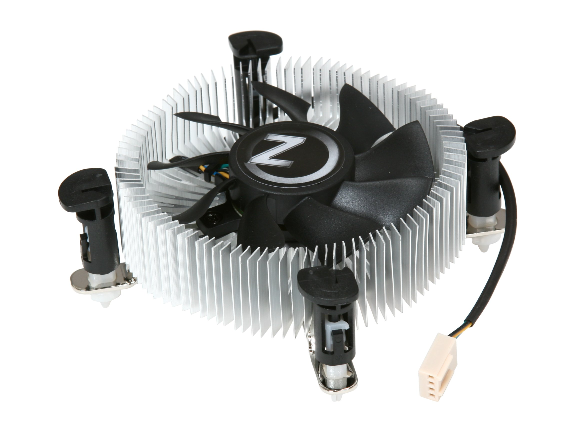 Rosewill 80mm Sleeve Low Profile CPU Cooler RCX-Z775-LP Black