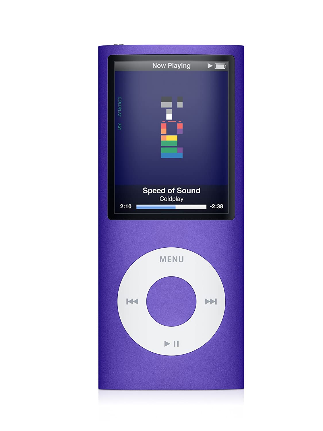 Amazon.com: Apple iPod nano 8 GB 4th Generation (Purple) (Discontinued by  Manufacturer): Home Audio & Theater