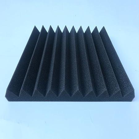 SODIAL 12 Paneles acusticos de Pck Insonorizacion Espuma de baldosas acusticas Sondas de espuma de estudio Cunas de sonido de 1 pulgada x 12 pulgadas x 12 ...