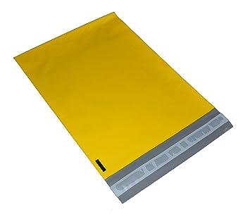 100 7,5 X 10,5 amarillo Poly sobres sobres bolsas para envío ...
