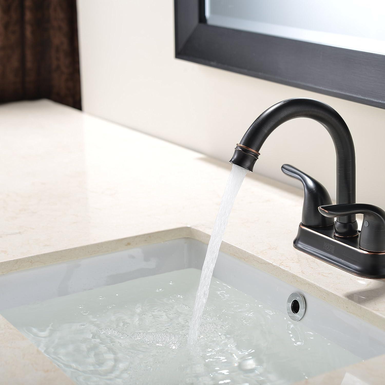 VAPSINT Ceramic Counter Rectangle Vessel Vanity Bathroom Sink, White ...