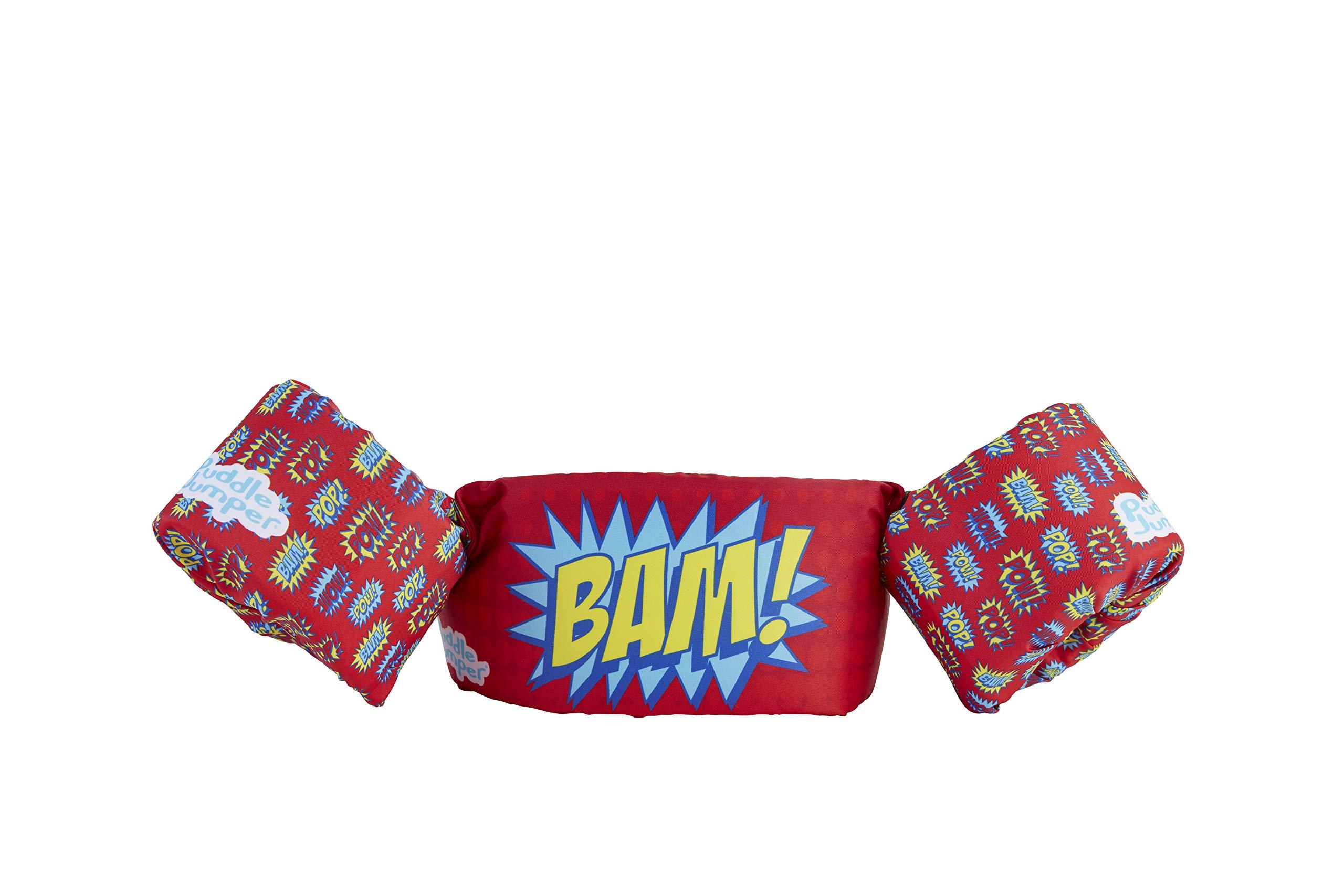 Stearns Puddle Jumper Kids Life Jacket | Life Vest for Children, Bam, 30-50 Pounds