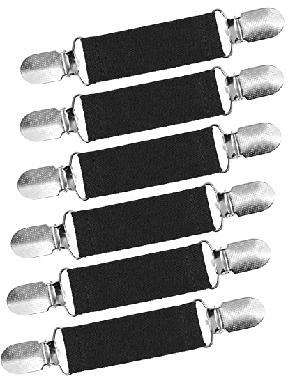 Amazon.com: Ruisita - 6 pinzas elásticas de acero inoxidable ...
