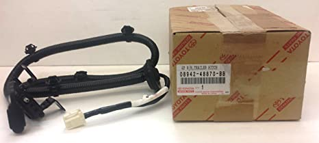amazon com toyota 08942 48870 bb towing option 4 flat wire harness rh amazon com