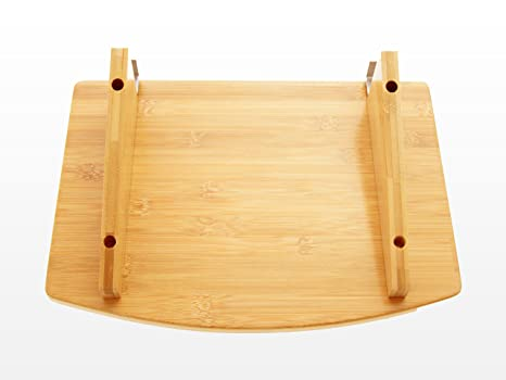 Amazon bedside hanging flat clip on shelf table small size amazon bedside hanging flat clip on shelf table small size for phones books glasses space saving bedroom ideas made of natural bamboo watchthetrailerfo