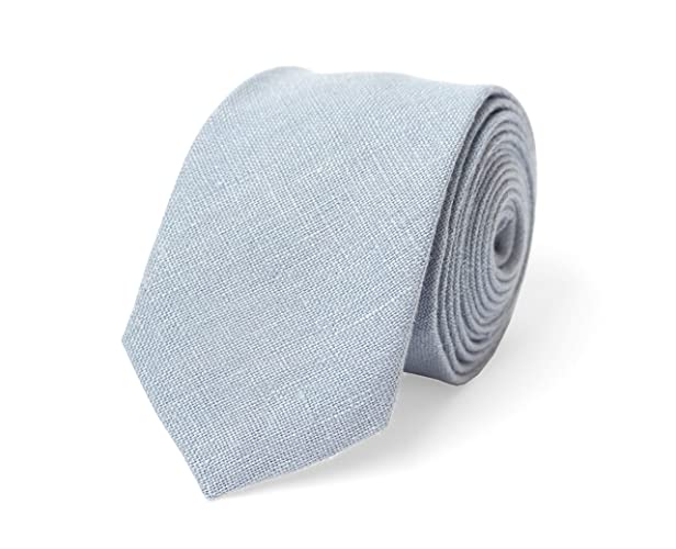 b25adfbb1b61 Dusty blue wedding necktie for groomsmen and bow ties for ring bearer made  from eco-friendly linen/boys and kids bow ties available with matching  pocket ...