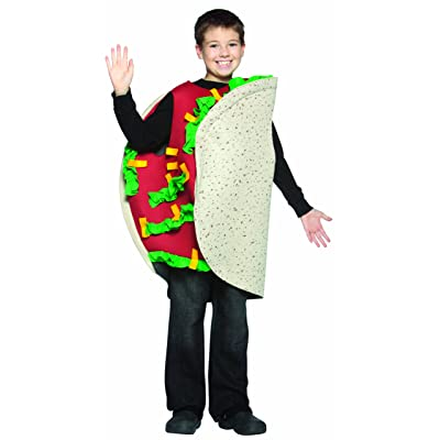 Rasta Imposta Taco Child Childrens Costume, 7-10, Multicolor: Toys & Games