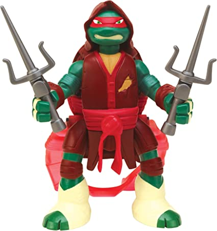 Teenage Mutant Ninja Turtles Throw N Battle Raphael Figure