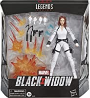 Marvel Hasbro Black Widow Legends Series 6-inch Collectible Black Widow Action Figure Toy, Includes 12 Accessories, Ages 4 an