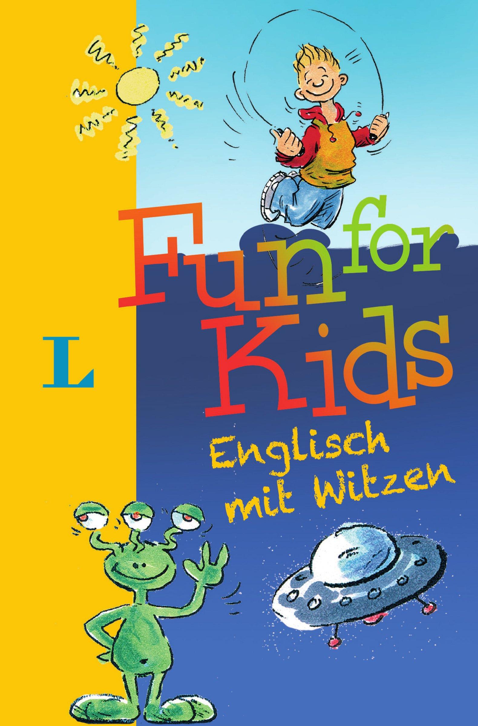 Fun for Kids: Englisch mit Witzen (Englisch) Taschenbuch – 3. März 2010 Karen Richardson Hans-Jürgen Feldhaus Langenscheidt 3468207506