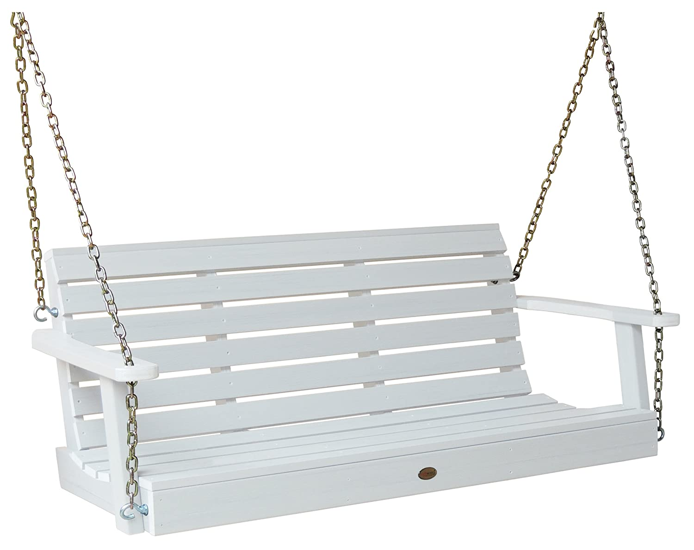 Amazing Amazon.com : Highwood Weatherly Porch Swing 5 Feet, White : Garden U0026 Outdoor