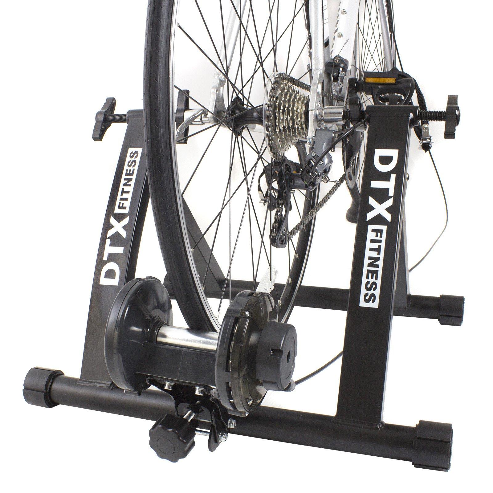 DTX Fitness Entraineur Turbo Réglable pour Vélo - Noir - Utilisez Votre Vélo Comme Vélo d'Appartement product image
