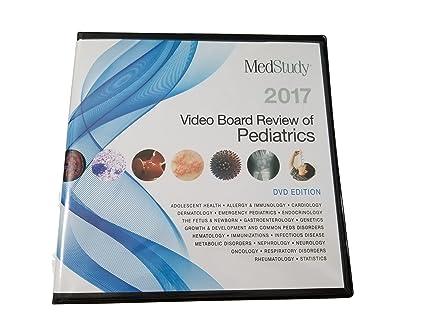 Amazon com: Medstudy Pediatrics Video Board Review 2017