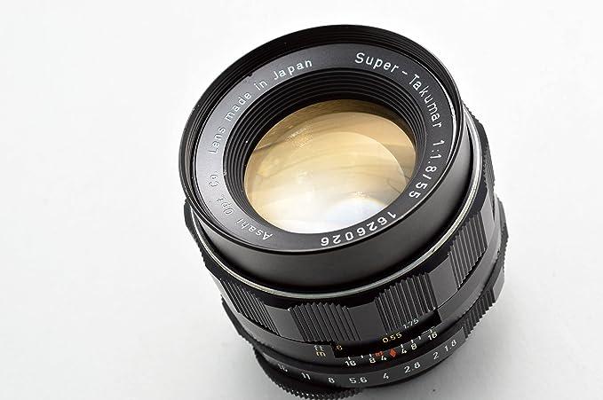 PENTAX SMC TAKUMAR 55mm F2.0 lente principal con montaje de M42 En Excelentes Condiciones