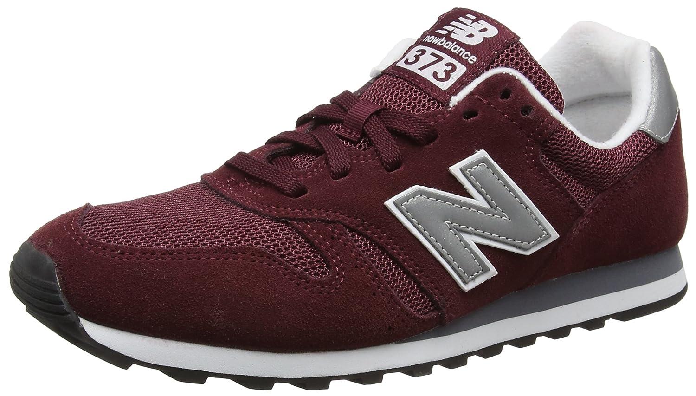 New Balance Men's 373V1 Sneaker B01MYRGKGX 10 M UK|Red (Burgundy)