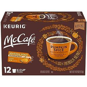 McCafe Pumpkin Spice Keurig K Cup Coffee Pods (12 Count)