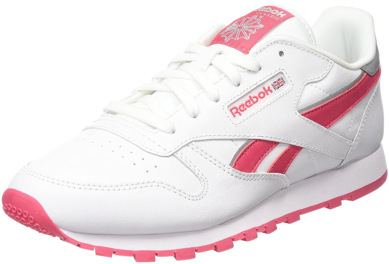 Reebok Cl Leather Reflect, Zapatillas de Running para Niñas 35 EU V70195