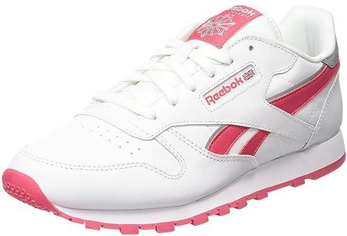 Reebok Classic Leather, Chaussures de Running Entrainement garçon