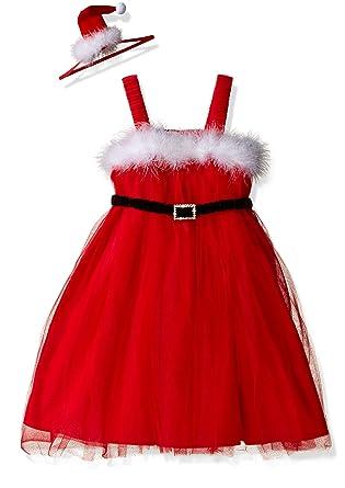 92615da58 Amazon.com  Mud Pie Baby Holiday Dress Girl Ruffle  Clothing