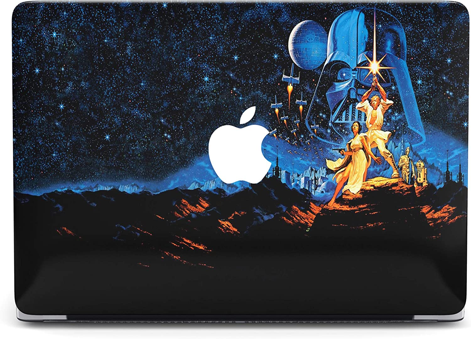 Star Wars Protective case Compatible with Apple MacBook Mac Air Pro 13 12 15 16 13.3 inch Retina Cover SN16 (Air 13