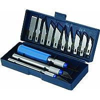 Silverline 251094 - Juego de cúters y cuchillas