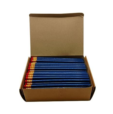 Amazon.com: Lápices HB de madera redonda Impex #2 (1 grande ...