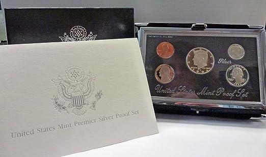1994 Silver Premier Proof Coin Set US Mint