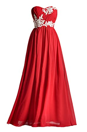 Prom Dresses Lace Special Occasion Gown Formal Dresses For Women Long Bridesmaid Dress, Color Burgundy