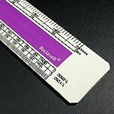 Bocianelli 30cm Scalimetro in Plastica Professionale 1:1 1:5 1:20 1:50 1:100 1:200 1:1250 1:2500 – Disegno Tecnico Architettura Ingegneria