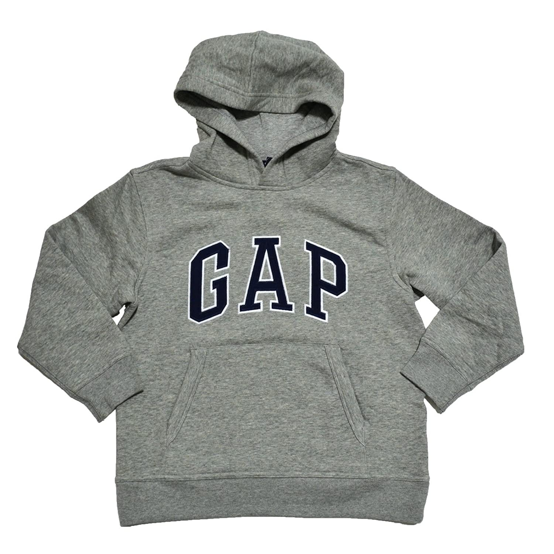 b146d5775eb Amazon.com  GAP Boys Fleece Arch Logo Pullover Hoodie  Clothing