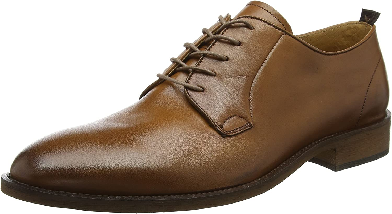 TALLA 44 EU. Bertie Piani WS, Zapatos de Cordones Derby para Hombre