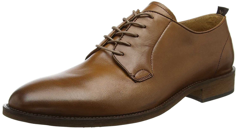 TALLA 42 EU. Bertie Piani WS, Zapatos de Cordones Derby para Hombre