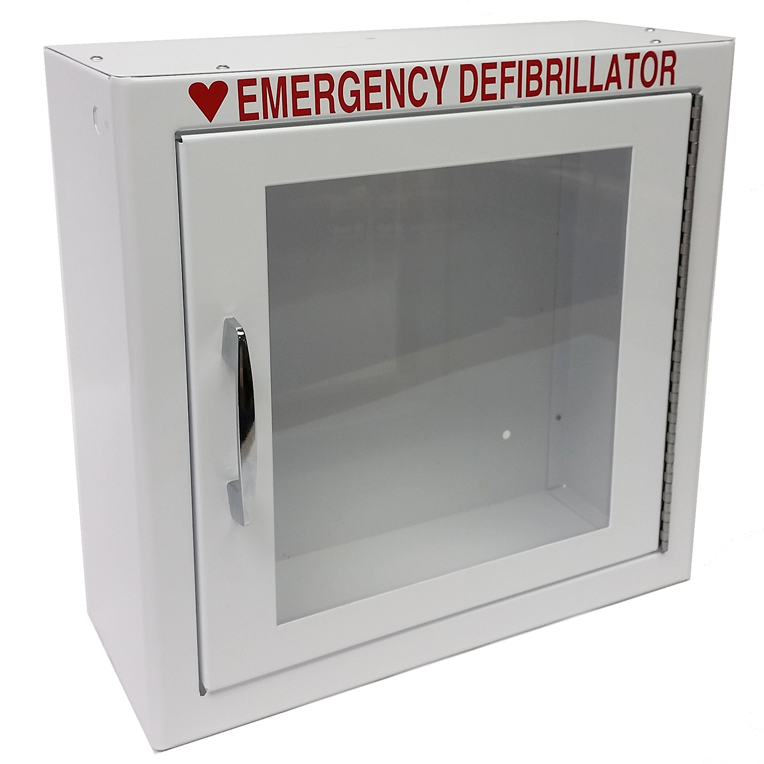 First Voice TS147SM AED Basic Wall Standard Cabinet, 13.5'' W x 13'' H x 7'' D