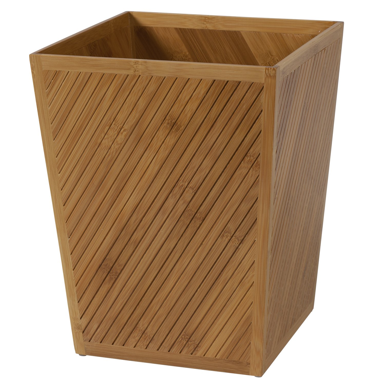 Creative Bath Products Spa Bamboo Waste Basket by Creative Bath (Image #1)