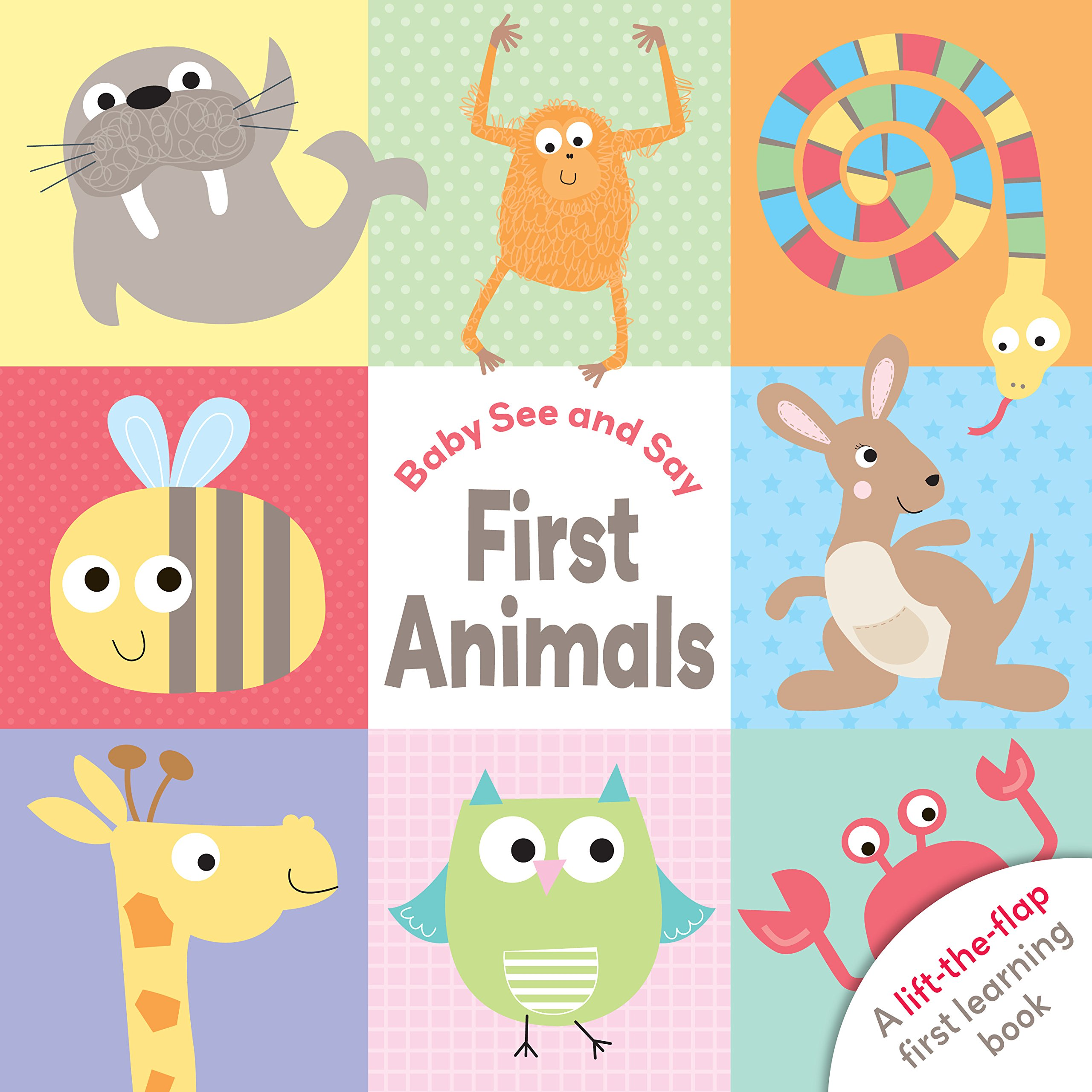 Baby See and Say First Animals PDF