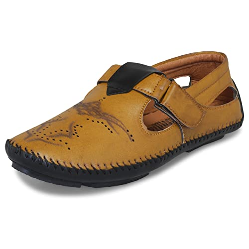 88698541572 BUCADIA Men Fashion Outdoor Formal Casual Ethnic Loafer Slip-On Sandal Shoe   Buy Online at Low Prices in India - Amazon.in