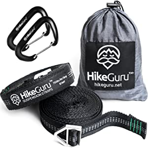 Hikeguru Hammock Straps with Buckle System