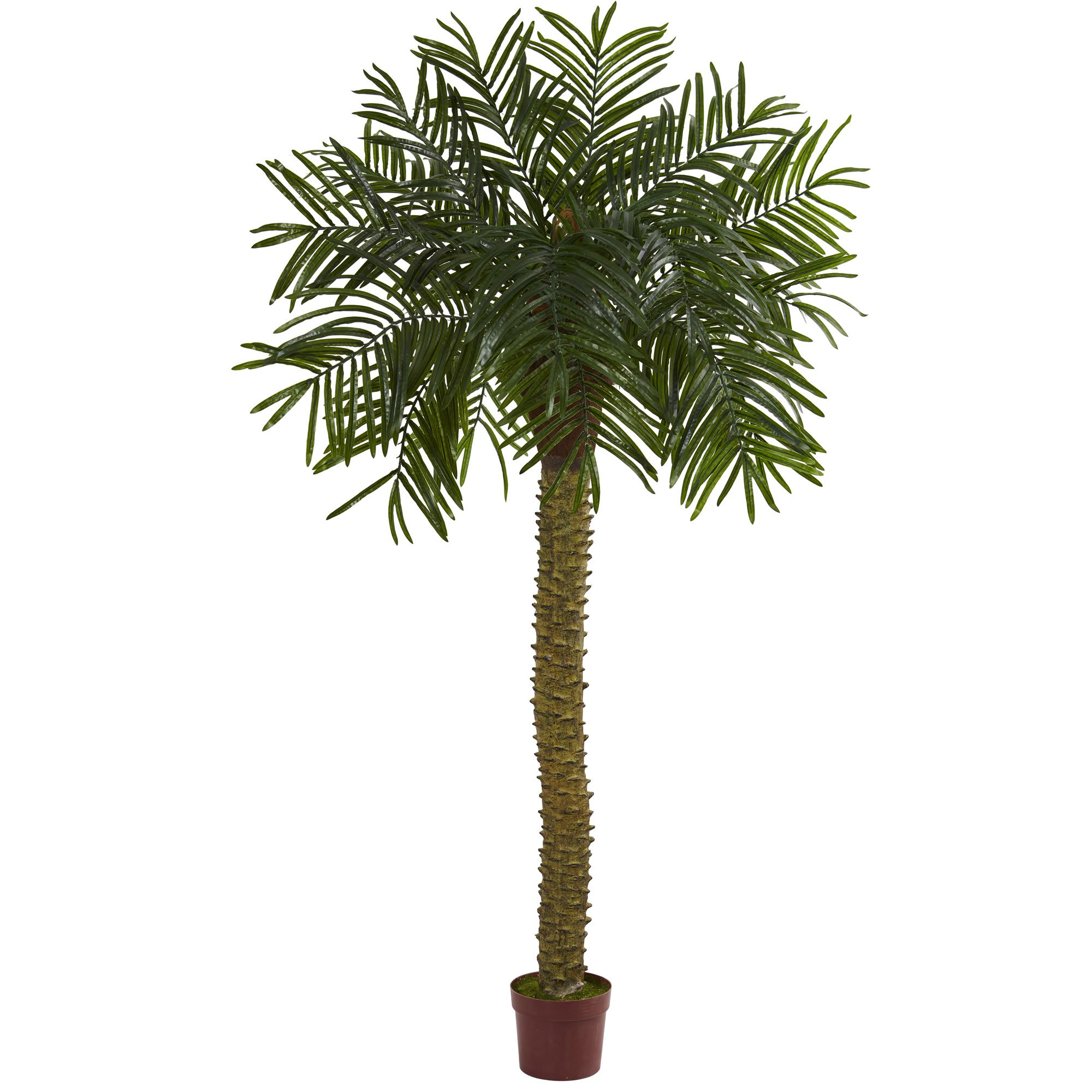 Nearly Natural 7'' Prickly Palm Artificial Tree, UV Resistant (Indoor/Outdoor) 7, Green by Nearly Natural