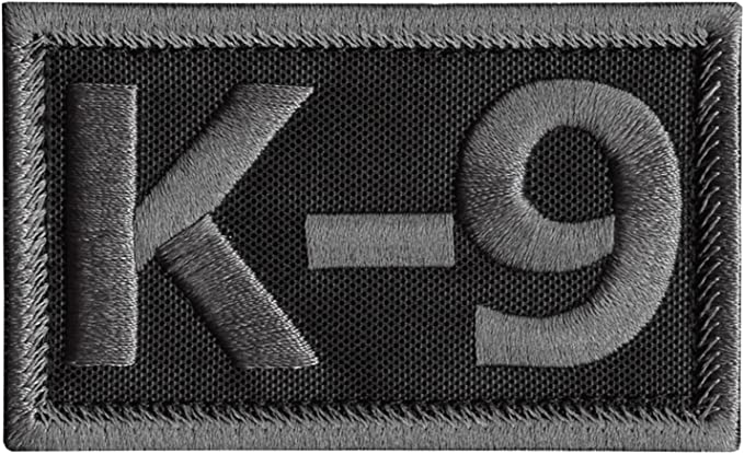2AFTER1 K-9 Handler K9 Dogs of War SWAT Tactical Morale Army Gear Hook-and-Loop Patch