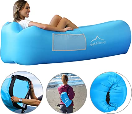 Amazon.com: Tumbona inflable AlphaBeing, la mejor tumbona de ...