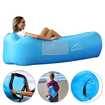 AlphaBeing Inflatable Pool Lounger
