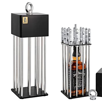 Alcohol Cage® Jaula para El Licor: Un Divertido Regalo De ...