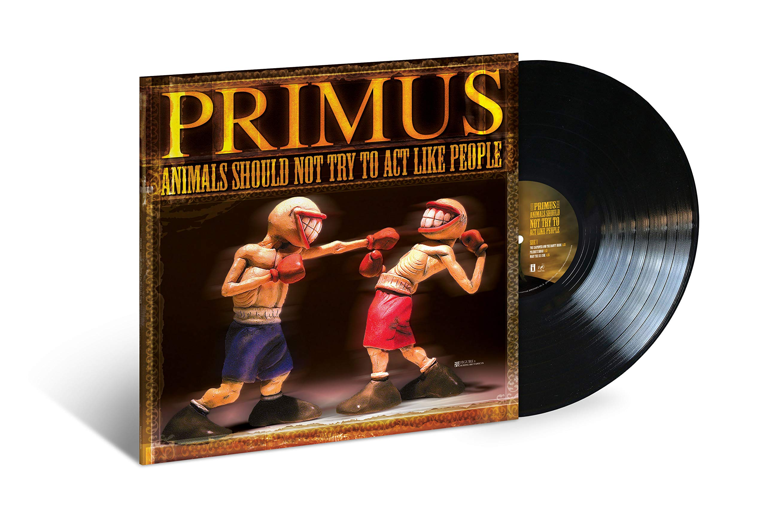 Vinilo : Primus - Animals Should Not Try To Act Like People (Digital Download Card)