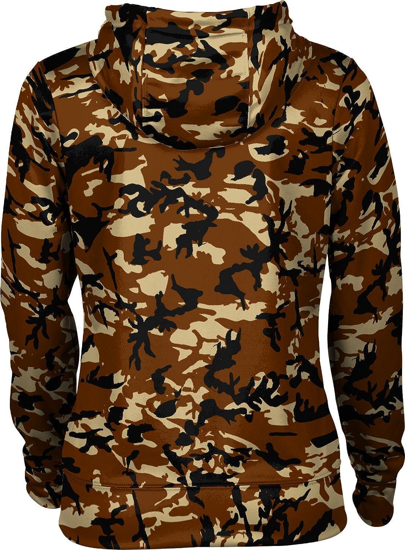 ProSphere Western Michigan University Girls Zipper Hoodie School Spirit Sweatshirt Camo